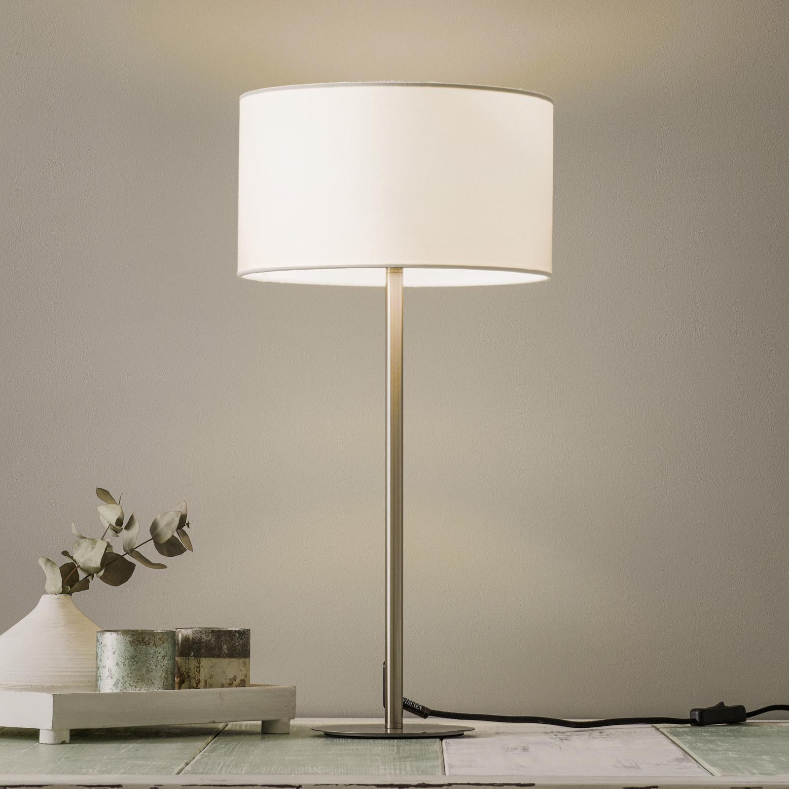 Schöner Wohnen Pina bordlampe, hvid