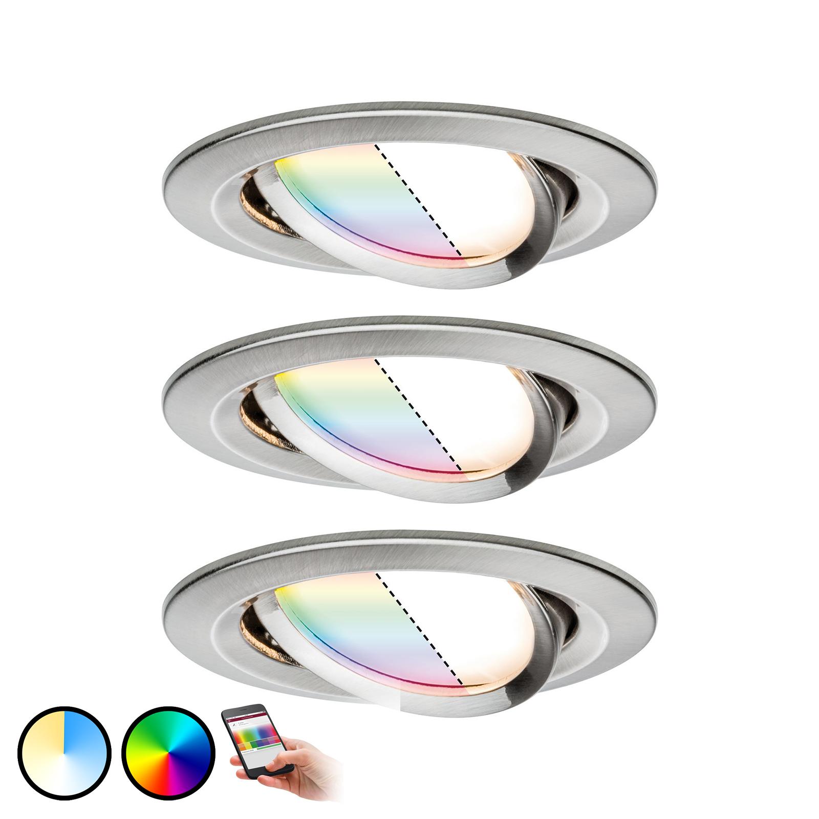 Paulmann Smart Friends Spot Nova Plus 3er Set RGBW