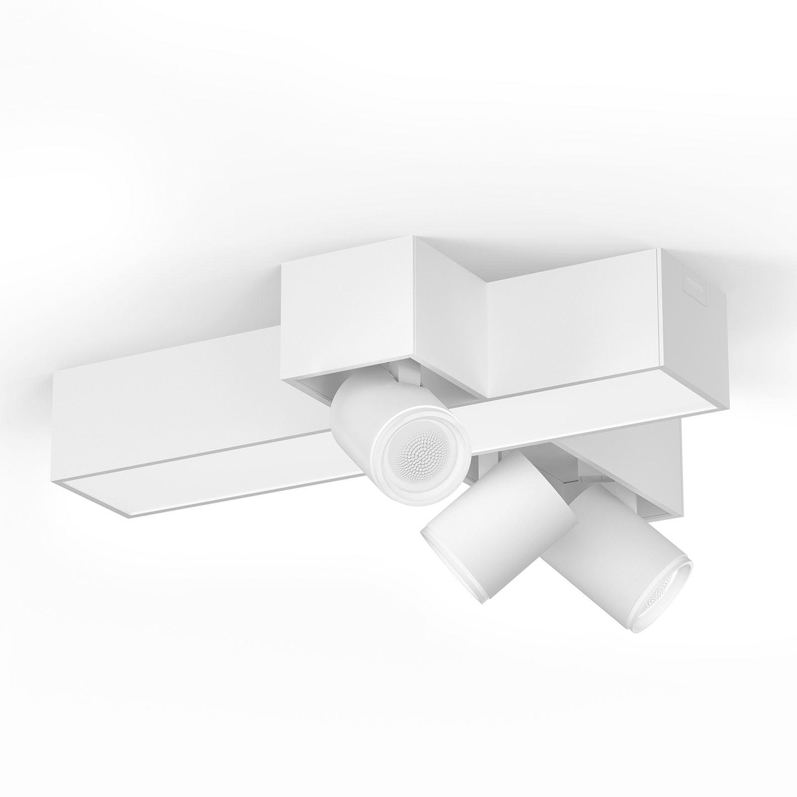 Philips Hue Centris Cross 3 lyskilder, hvit
