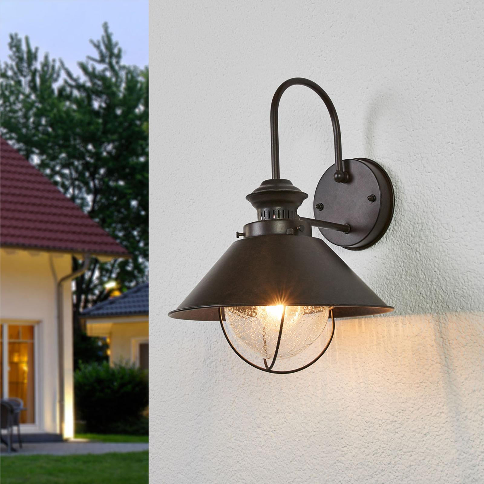 Charmerende Nautica udendørs væglampe, 26 cm
