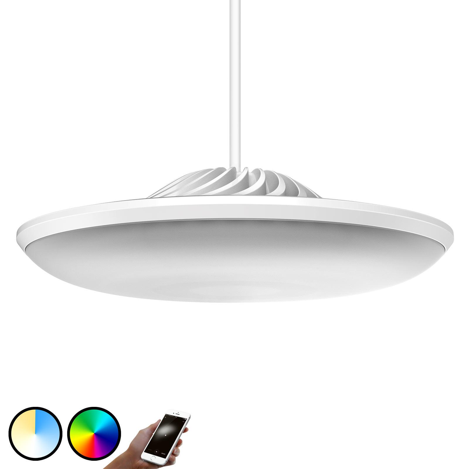 Luke Roberts Model F hvit LED-hengelampe