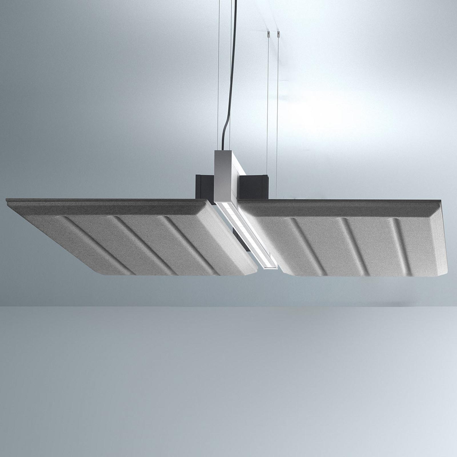 Luceplan Diade hanglamp horizontaal Ø 120cm zwart