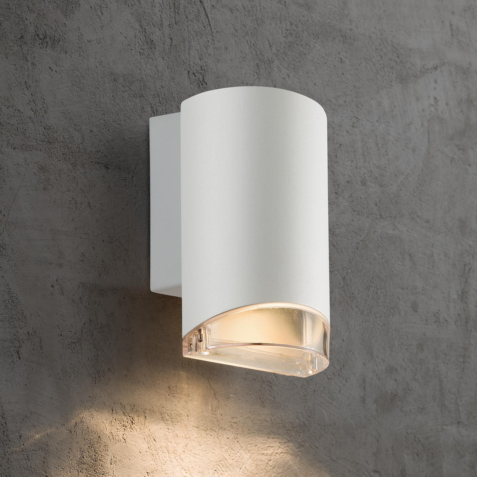 Applique d'extérieur Arn à 1 lampe, blanche