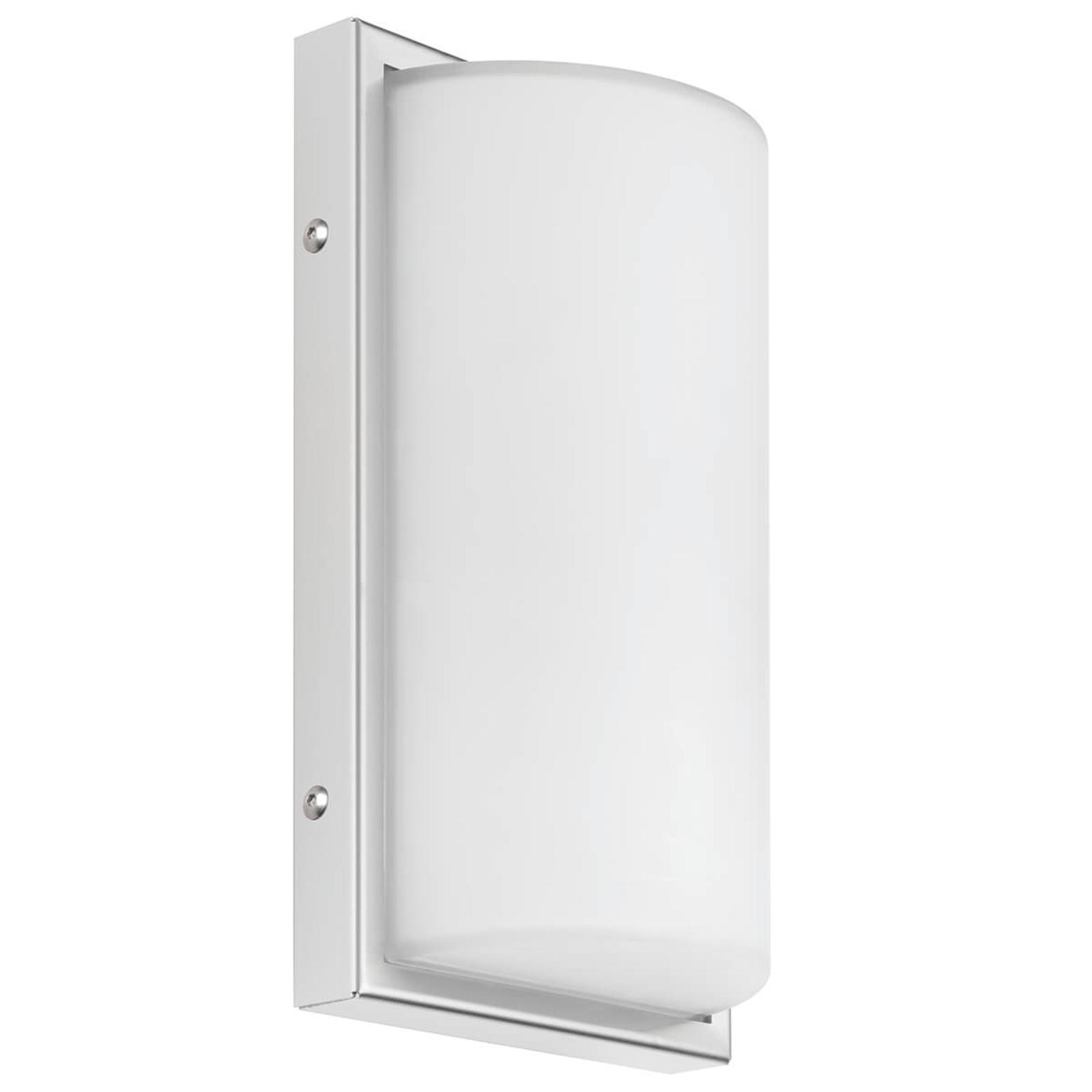 LED-Außenwandleuchte 040 mit Sensor, weiß