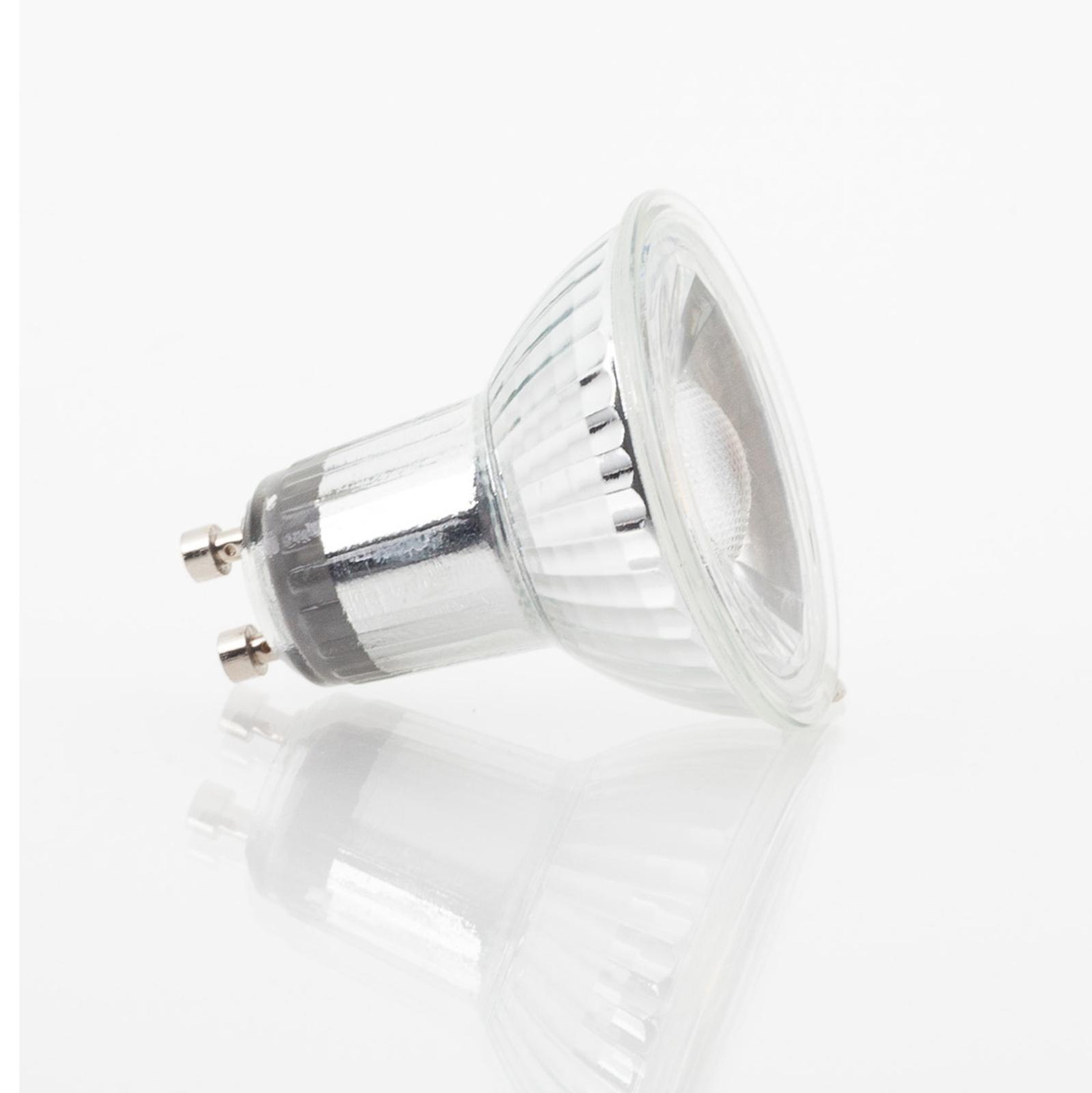 GU10 5W 830 LED żarówka reflektorowa, ściemn.