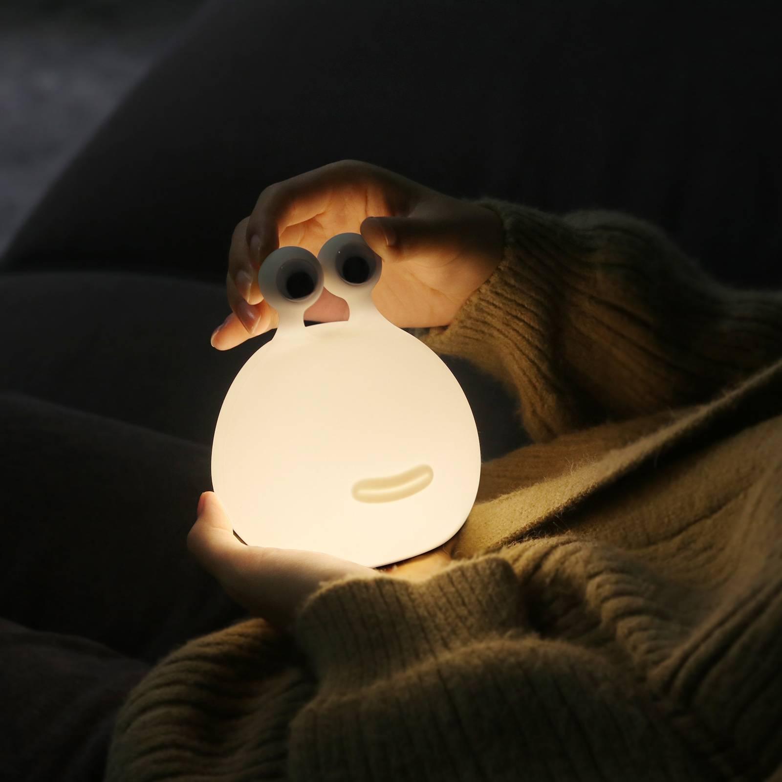 LED-Nachtlicht Momo Moon mit Akku und USB