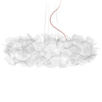 Slamp Clizia Pixel hengelampe, rød kabel