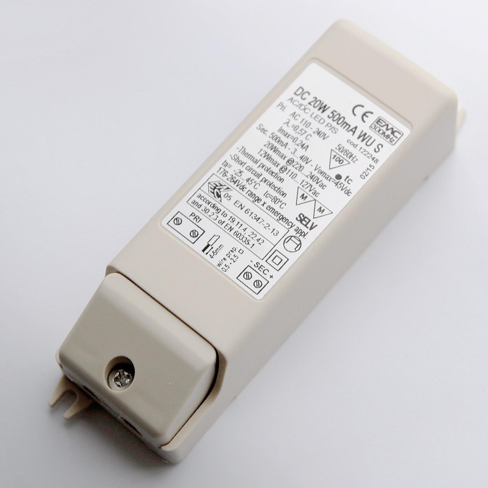 Driver pour lampe encastrable LED 2-20W