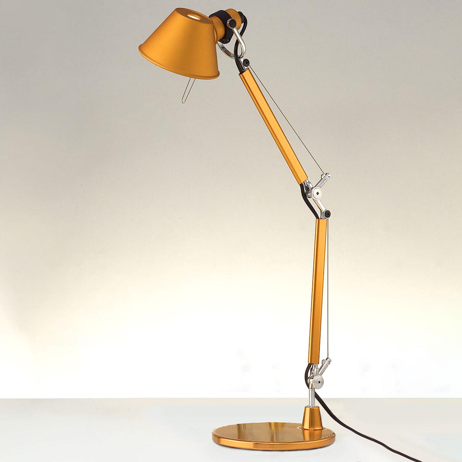 Artemide Tolomeo Micro bordslampa, orange