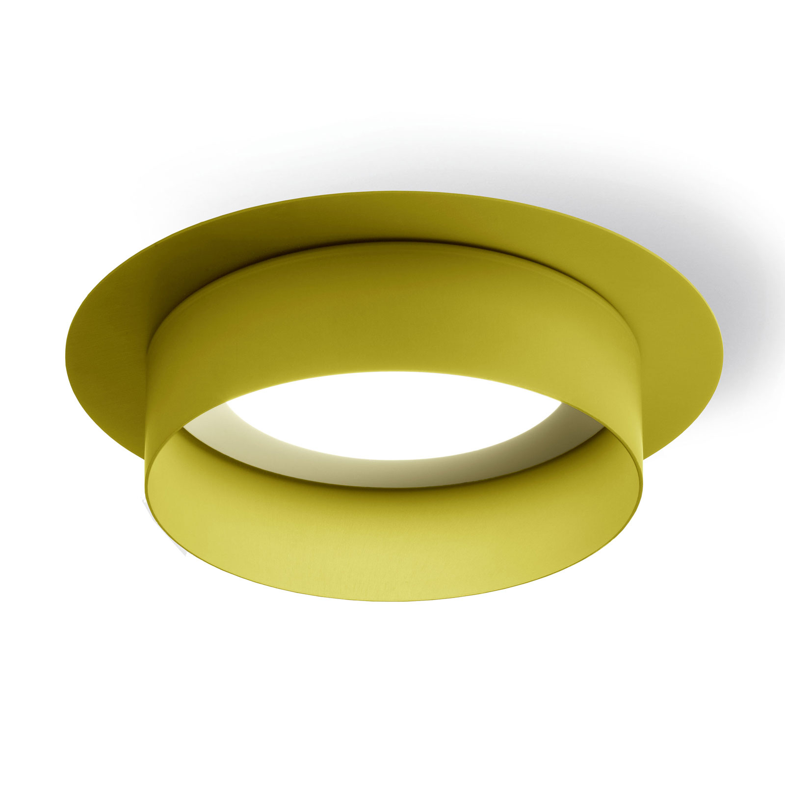 Modo Luce Hamer plafondlamp direct Ø 18 cm limone