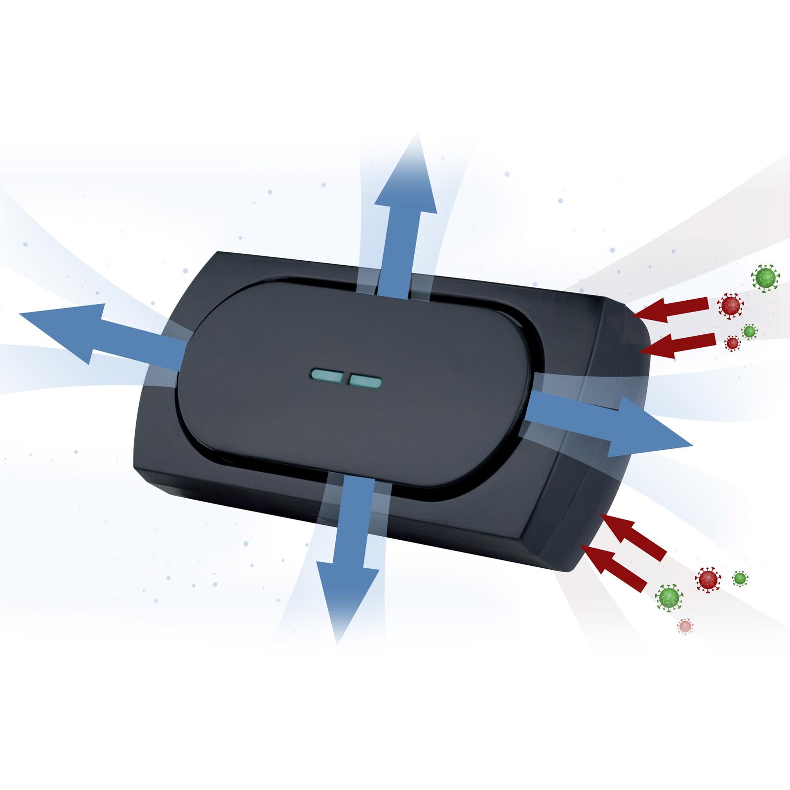 Antivirové svítidlo UV-C pro Auto, provoz přes USB