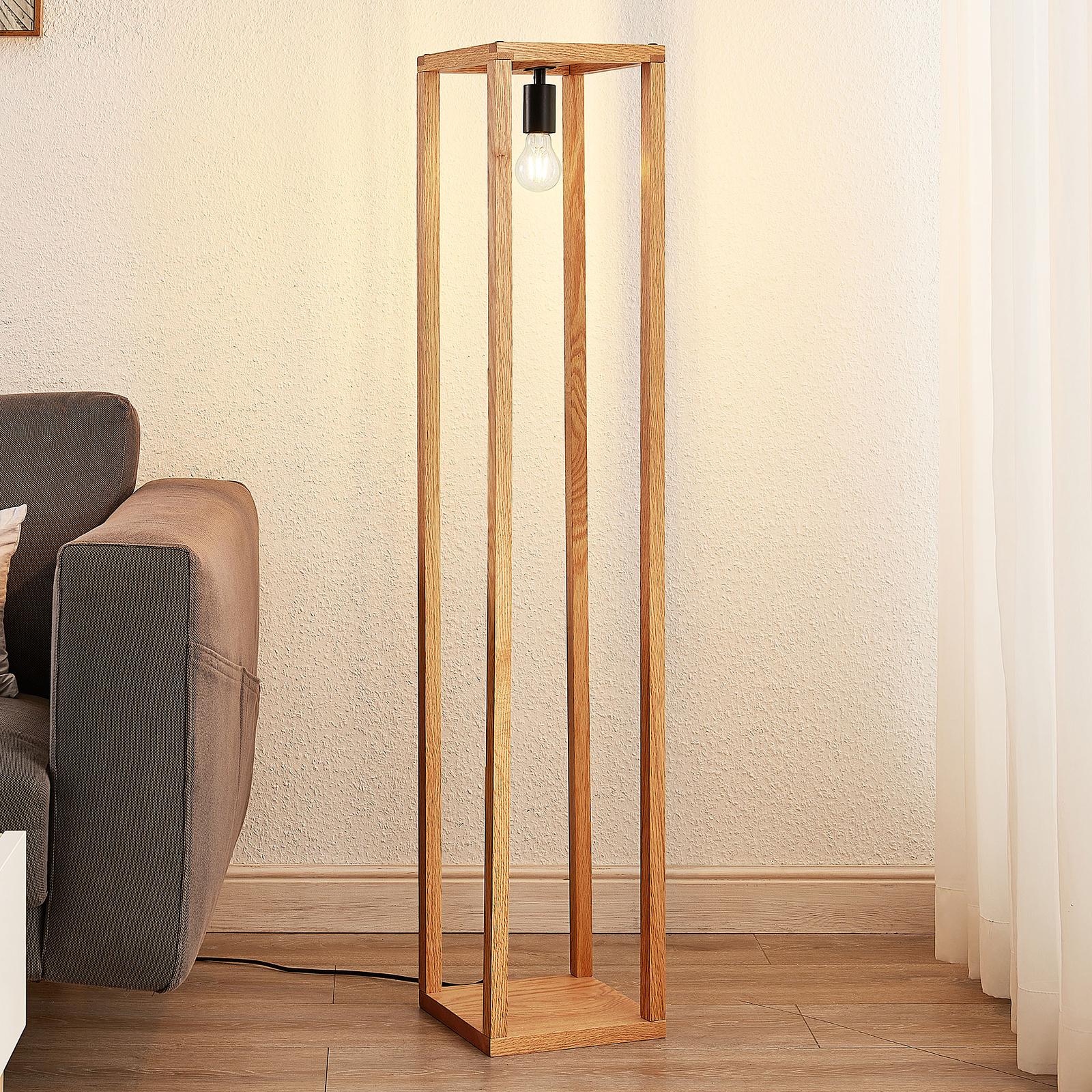 Lucande Sedrik vloerlamp in doosvorm