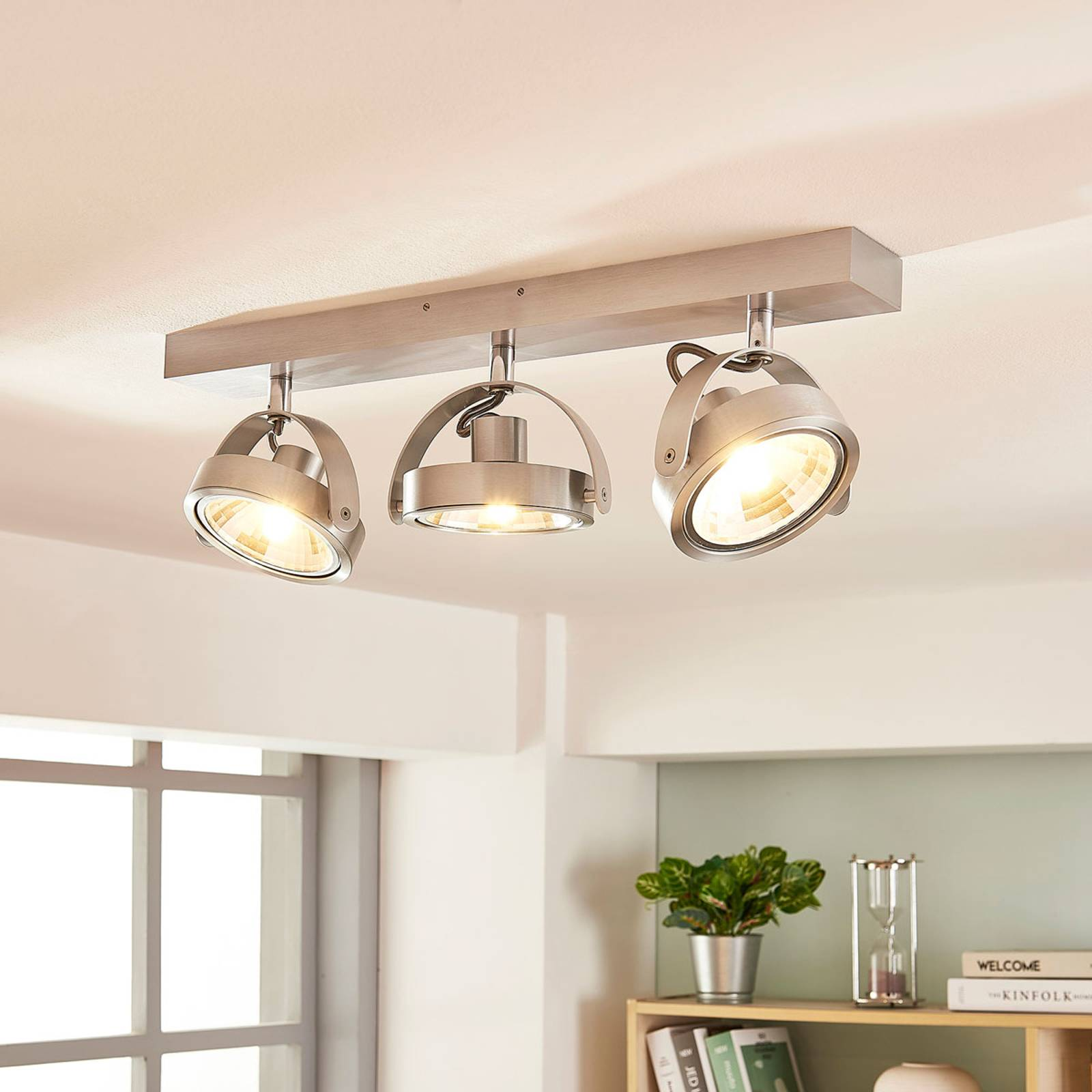 LED-Deckenstrahler Lieven aus Aluminium, 3-flammig