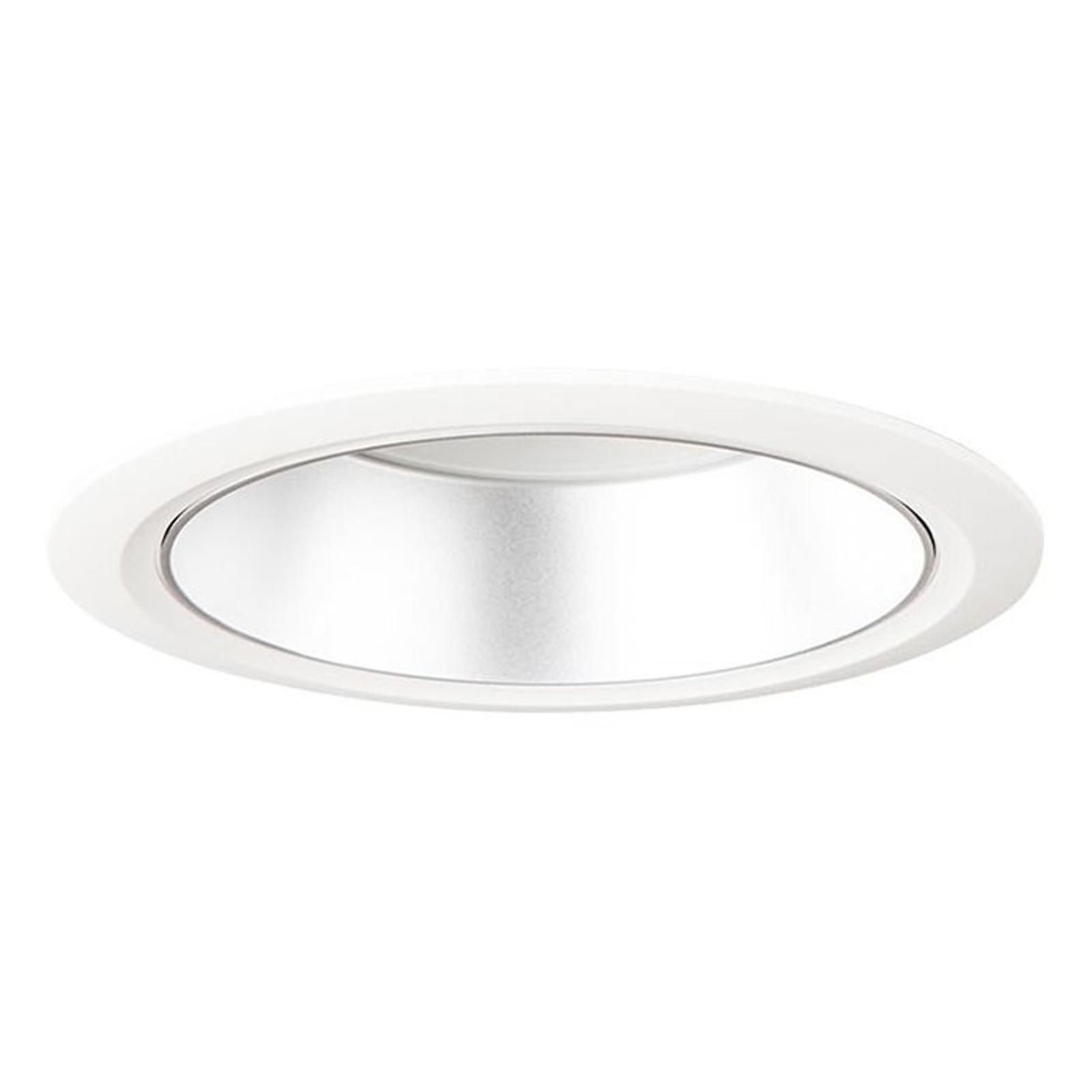 D70-RF155 HF LED-downlight 4 000 K hvit/matt sølv