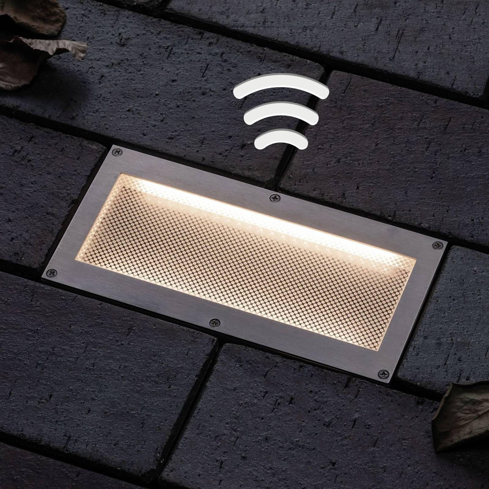 Paulmann LED grondspot lamp solar Aron20x10cm