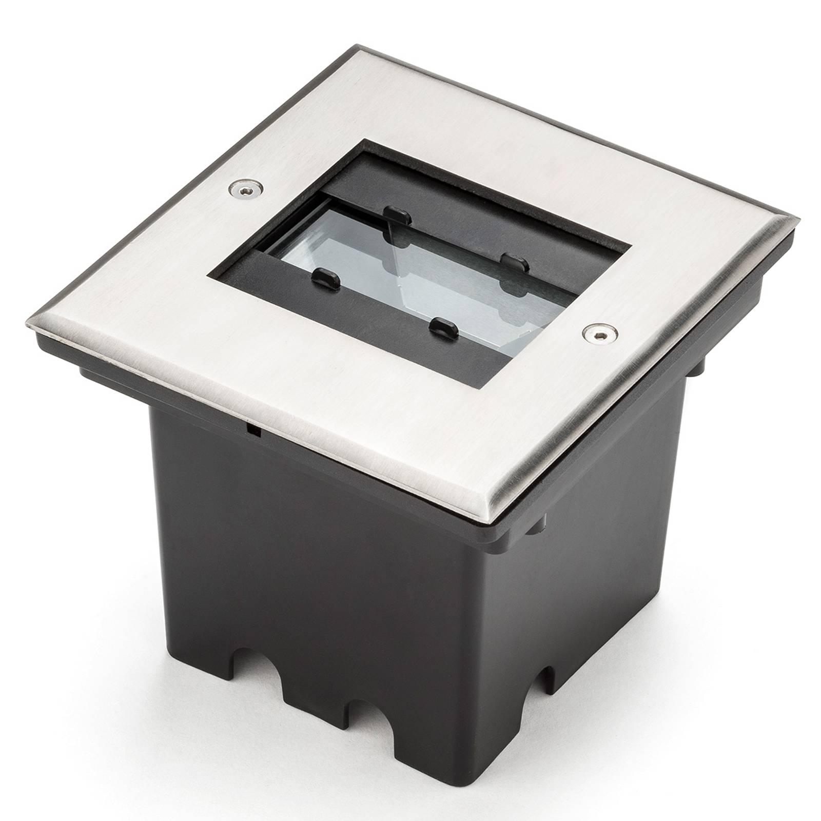 9 LED - Malte grondspot met flex. Lichtuitvoer