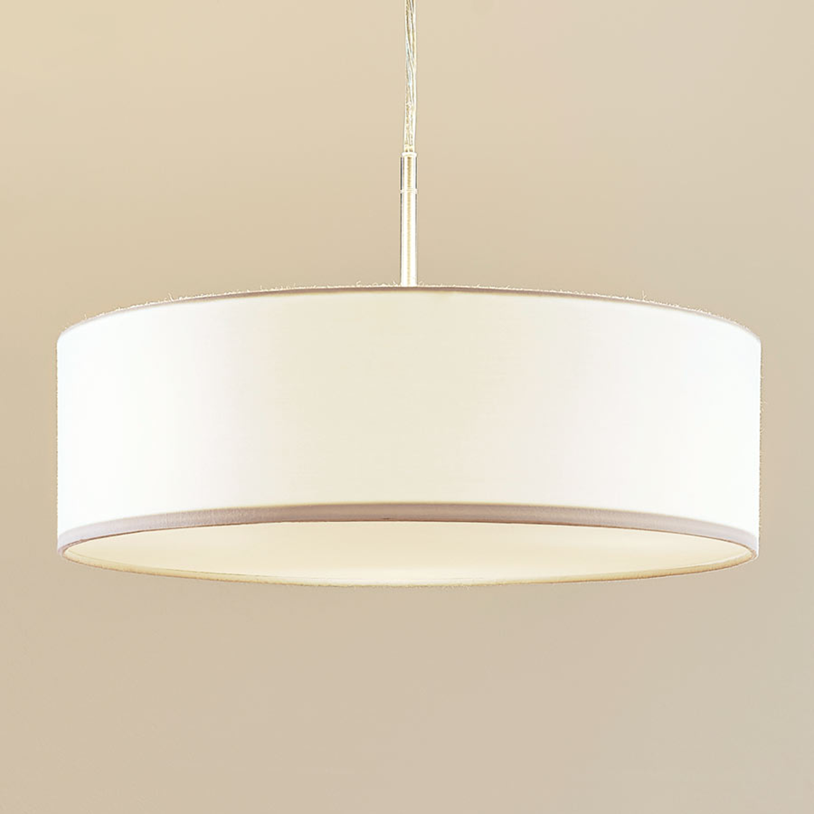 Suspension en tissu Sebatin, blanc