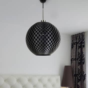 Effectieve hanglamp Flechtwerk in grafiet