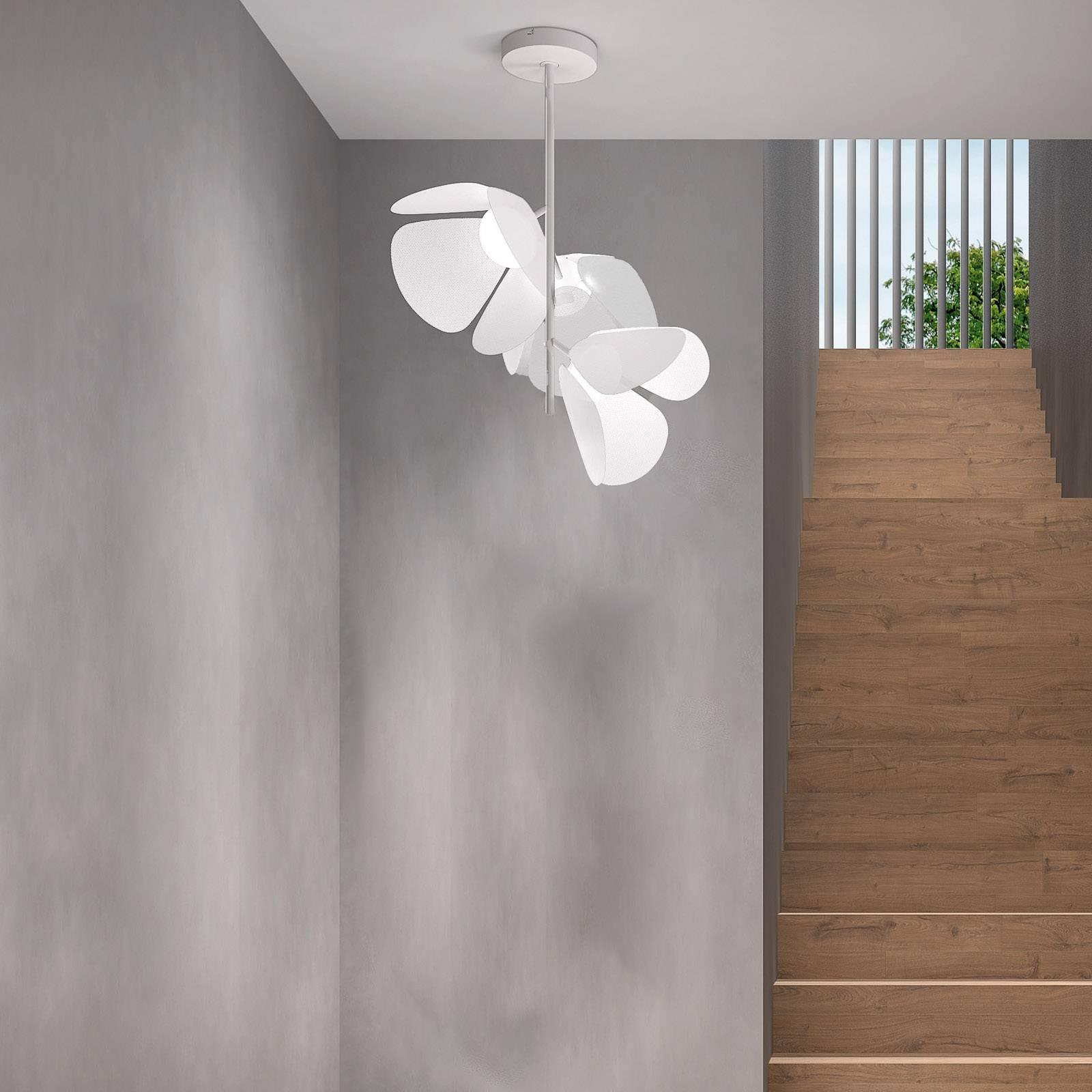 Bover Mod PF/73/3L LED plafondlamp, wit