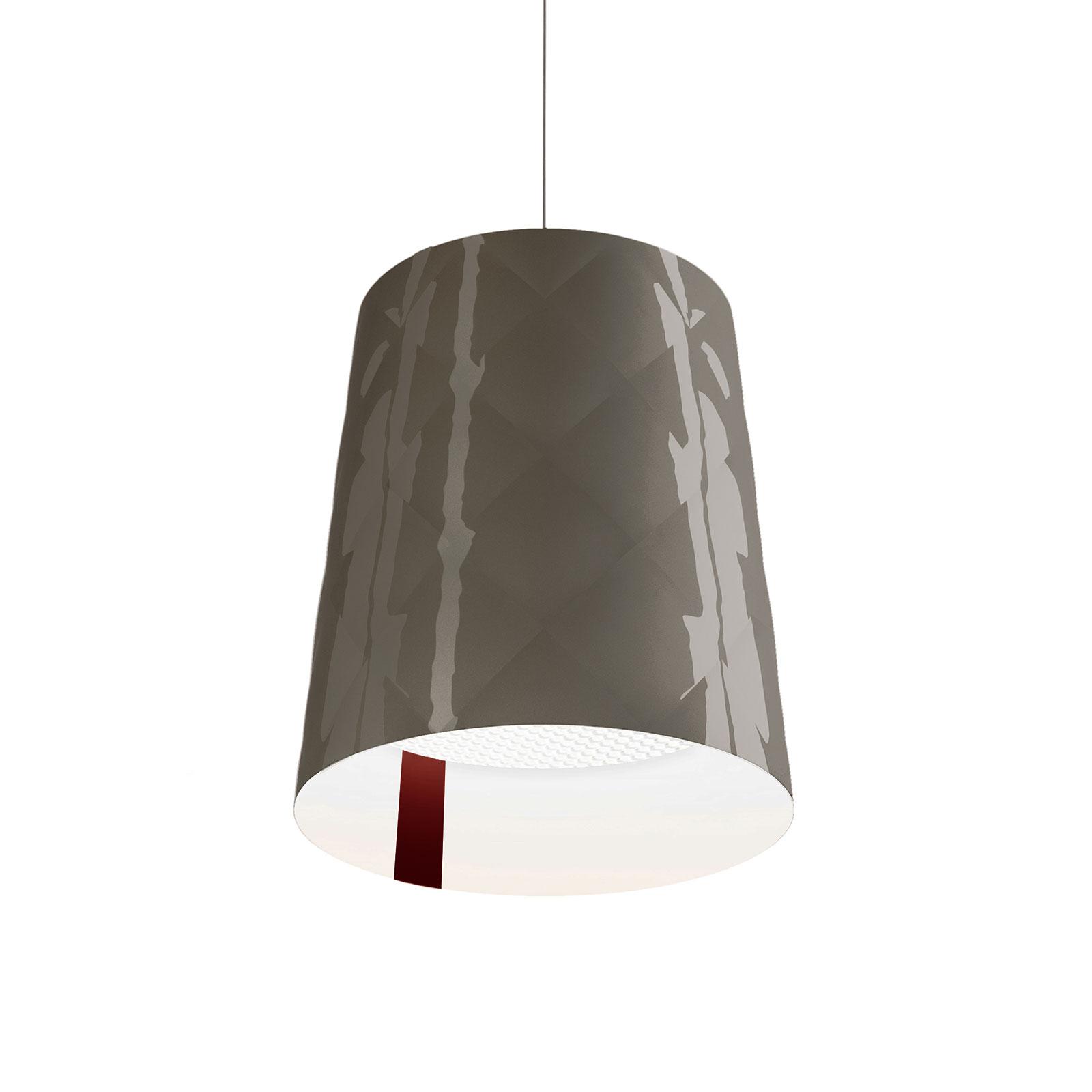 Kundalini New York hanglamp, Ø 33 cm, grijs