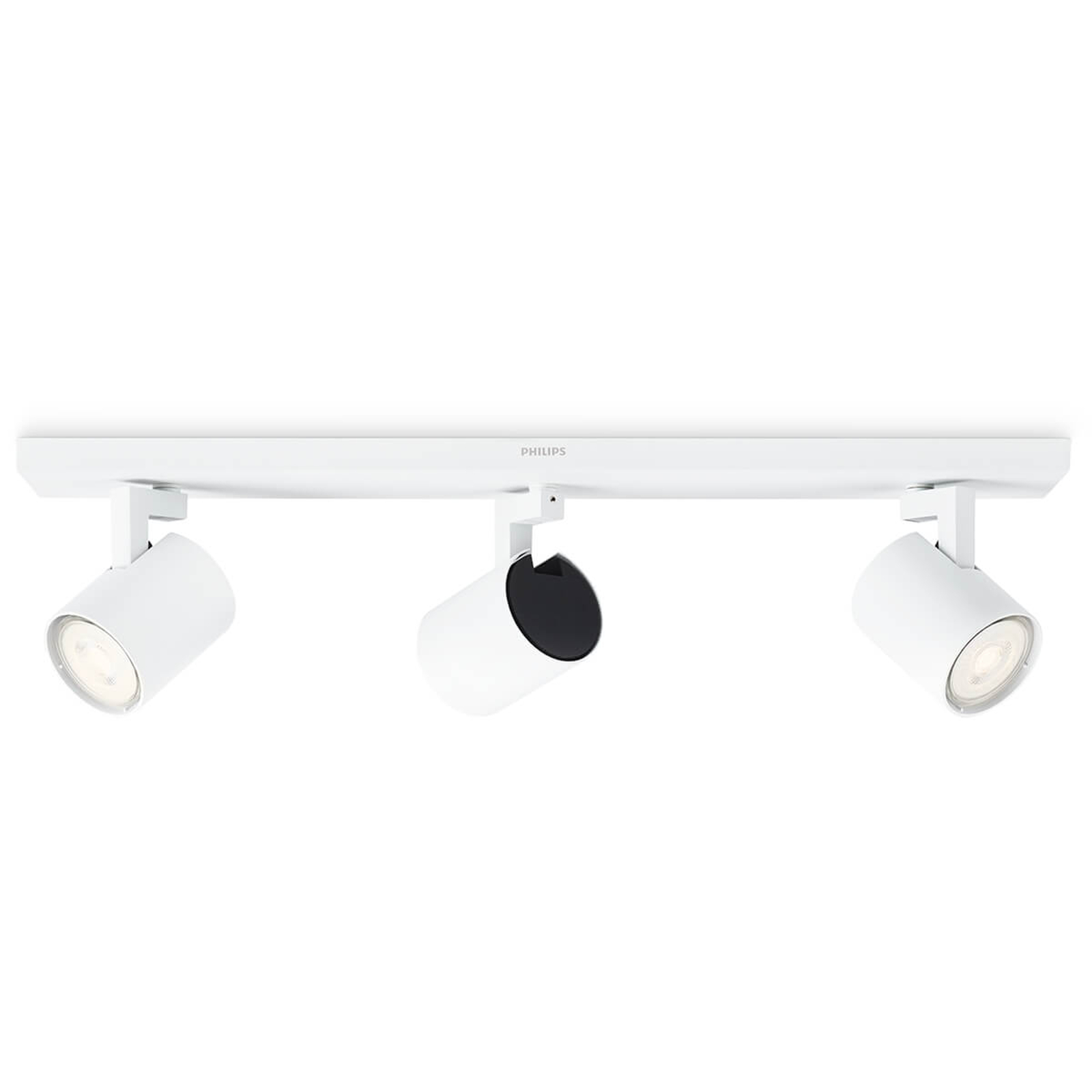 Philips Runner faretto LED bianco 3 luci