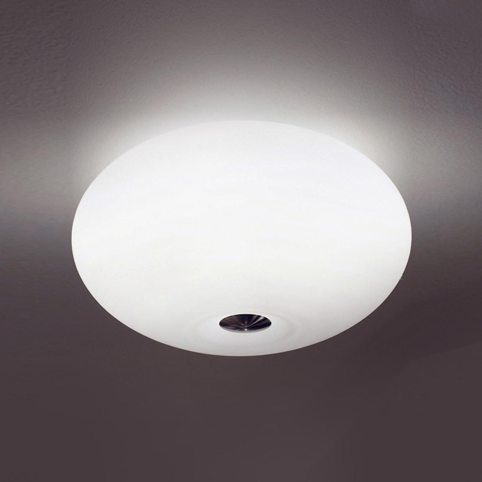 Wspaniała lampa sufitowa AIH 28 cm biała matowa