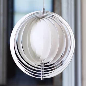 VERPAN Moon - lampa wisząca z aluminiowych lameli