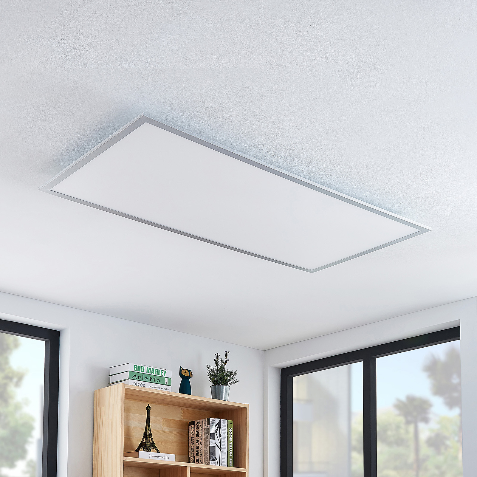 Lindby Zento LED-Panel, 4.000 K