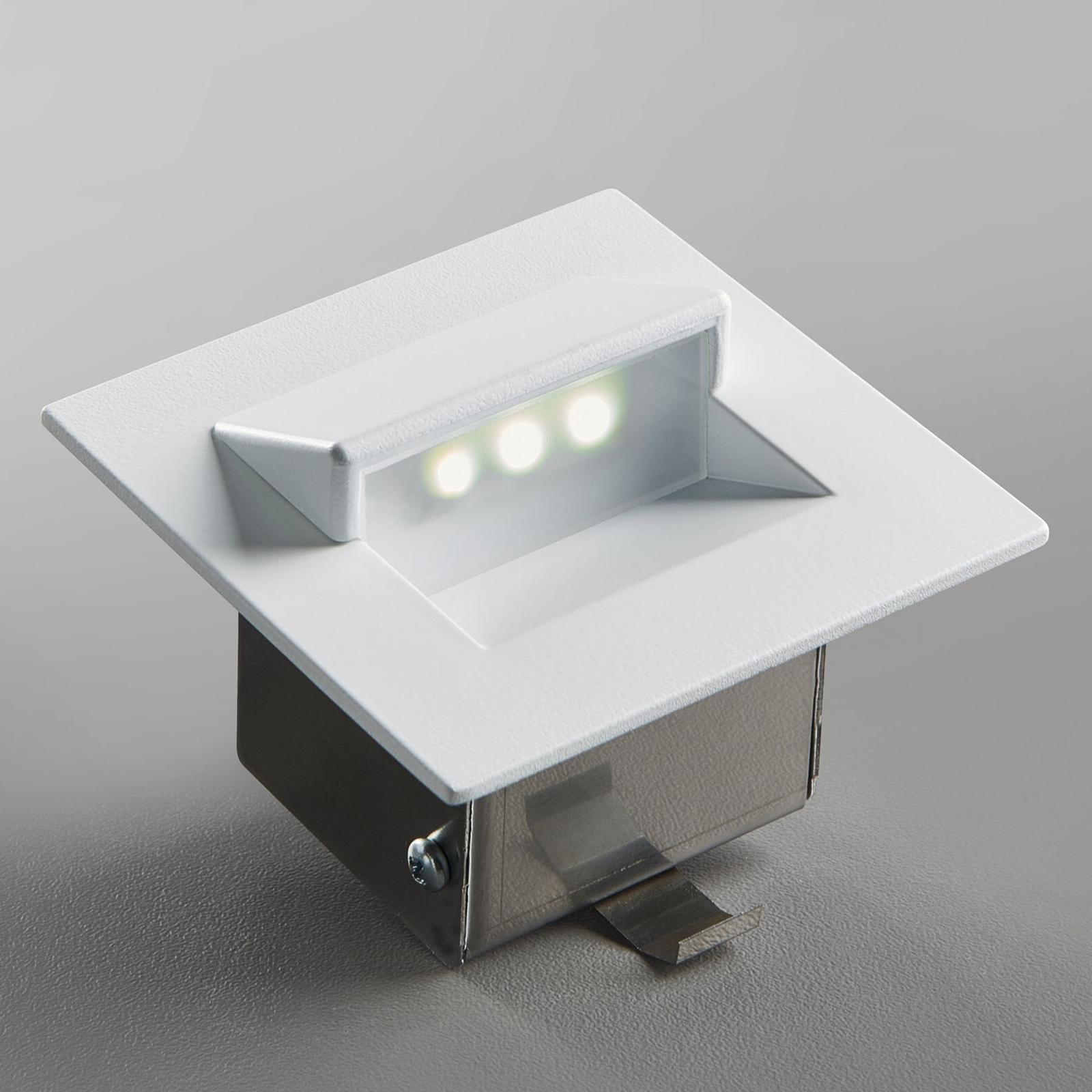 Faretto LED da incasso Live di alluminio