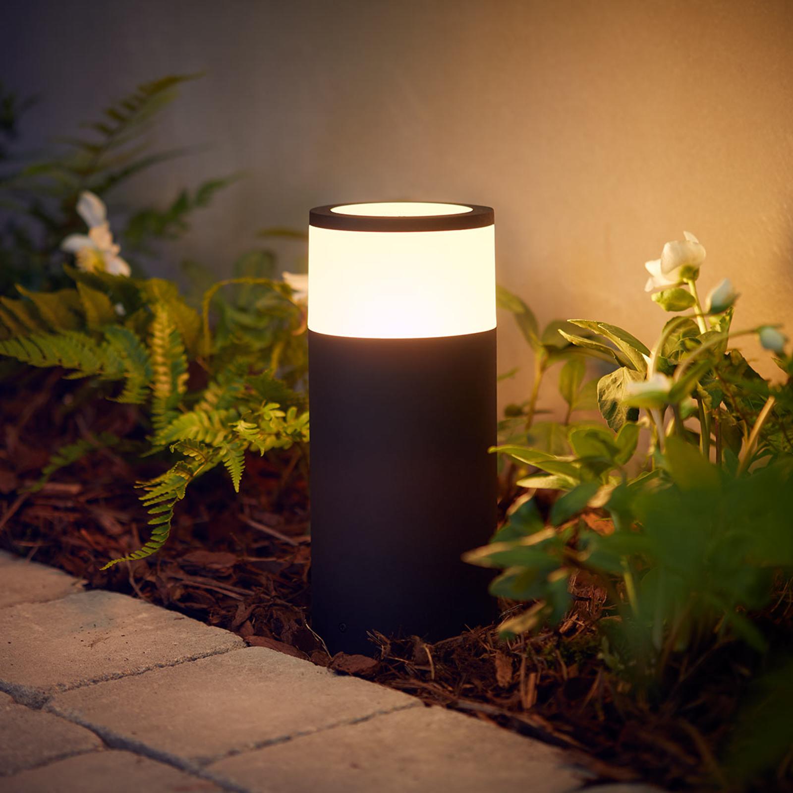 Philips Hue LED buitenwandlamp Calla, basisset
