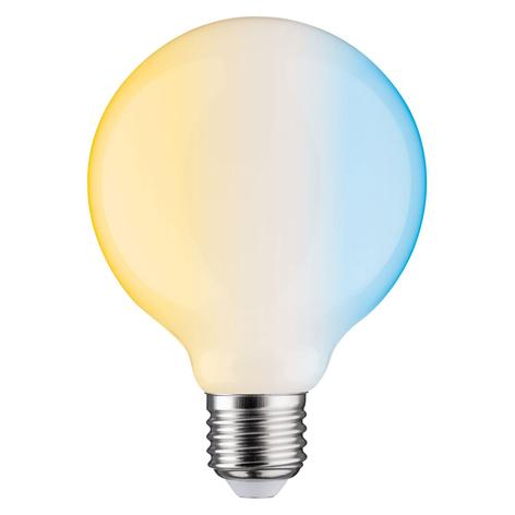 Paulmann globe LED E27 7W Zigbee Tunable White