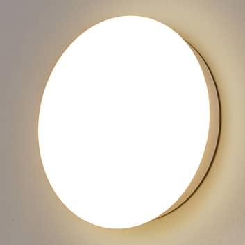 Hvit SUN 12 LED-taklampe med kapslingsgrad IP55
