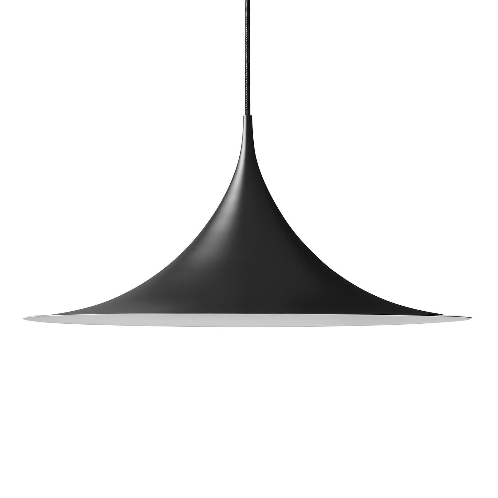 GUBI Semi hængelampe Ø 30 cm, sort