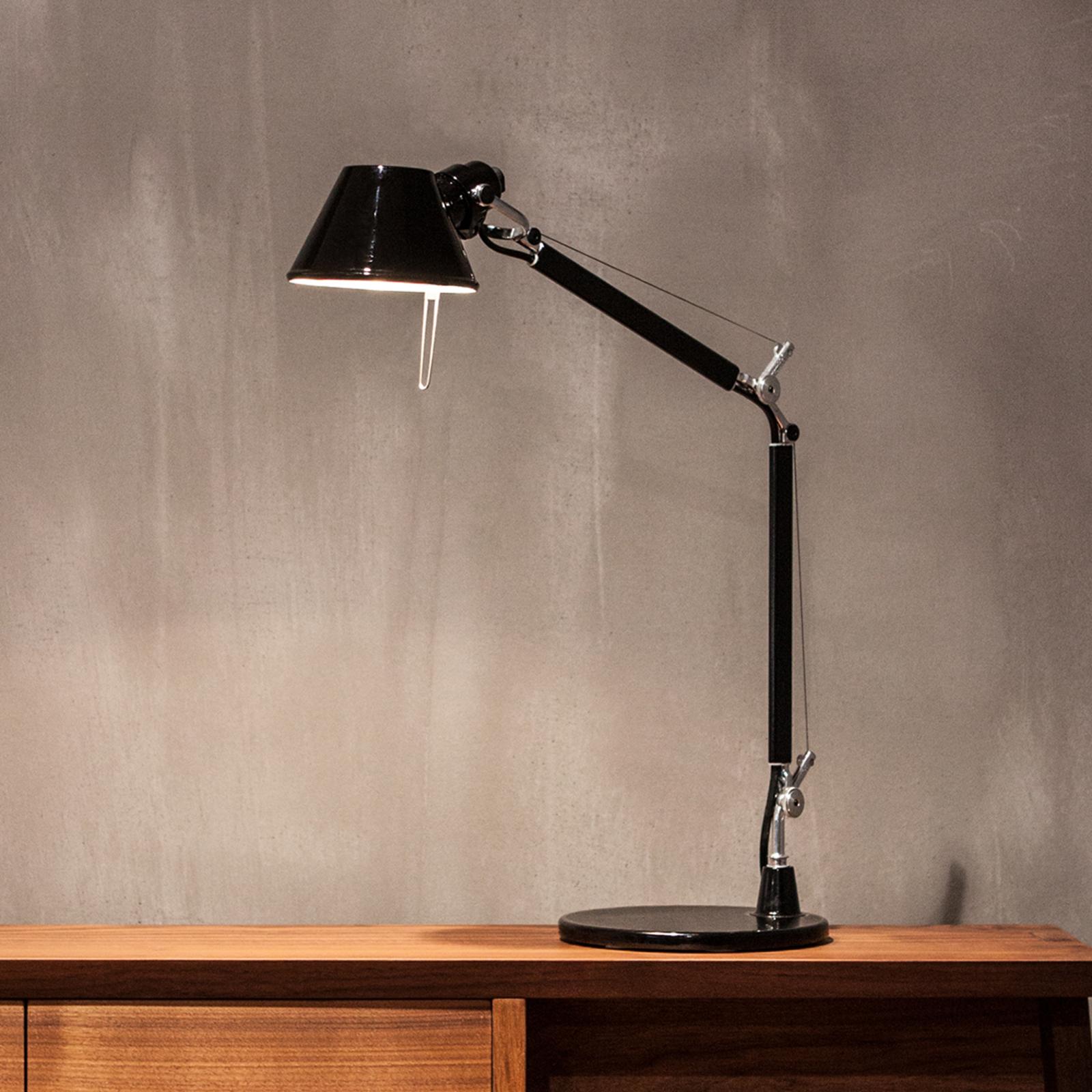 Artemide Tolomeo Micro tafellamp, zwart