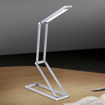 Skládací stolní lampa LED Falto s baterií antracit