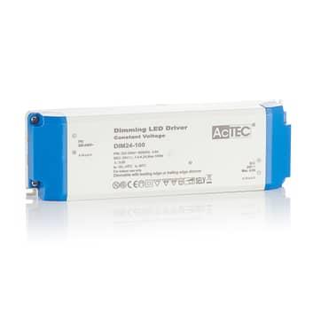 AcTEC DIM LED-driver CV 24 V, 100 W, kan dæmpes