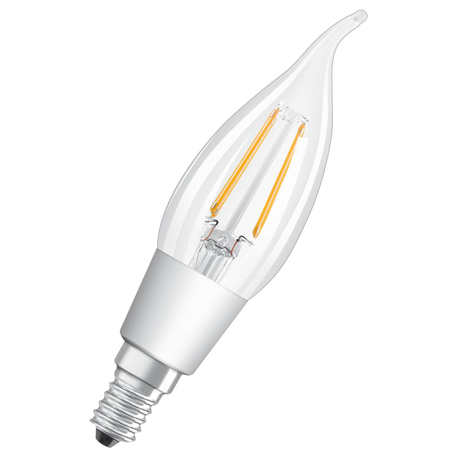 OSRAM LED-Lampe E14 4,5W Star+ Glowdim Filam. klar