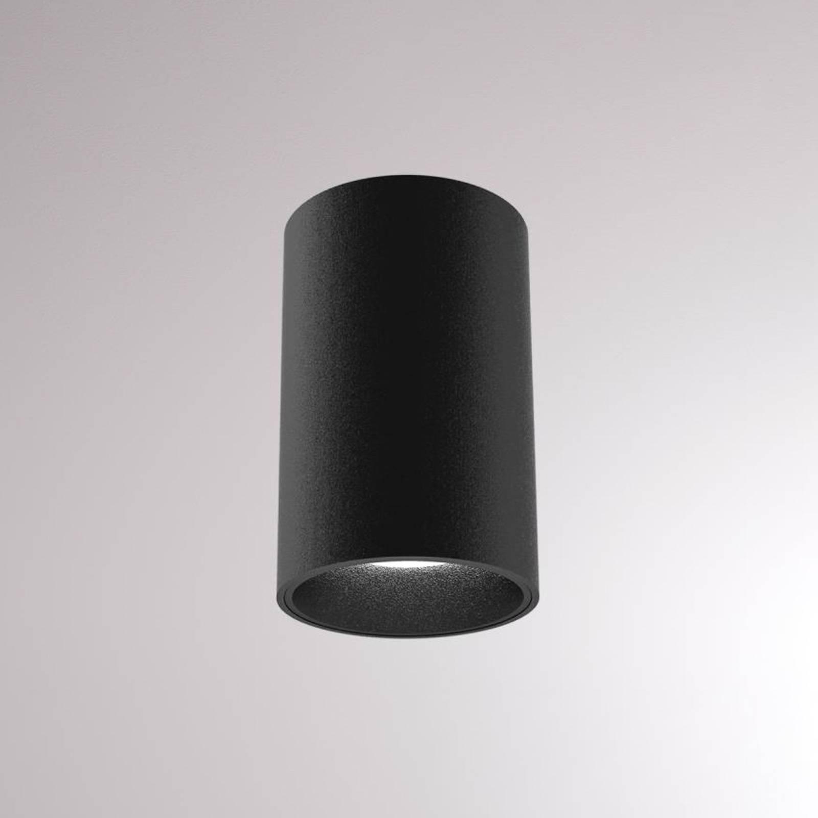 LOUM Atus Round LED-Deckenleuchte schwarz
