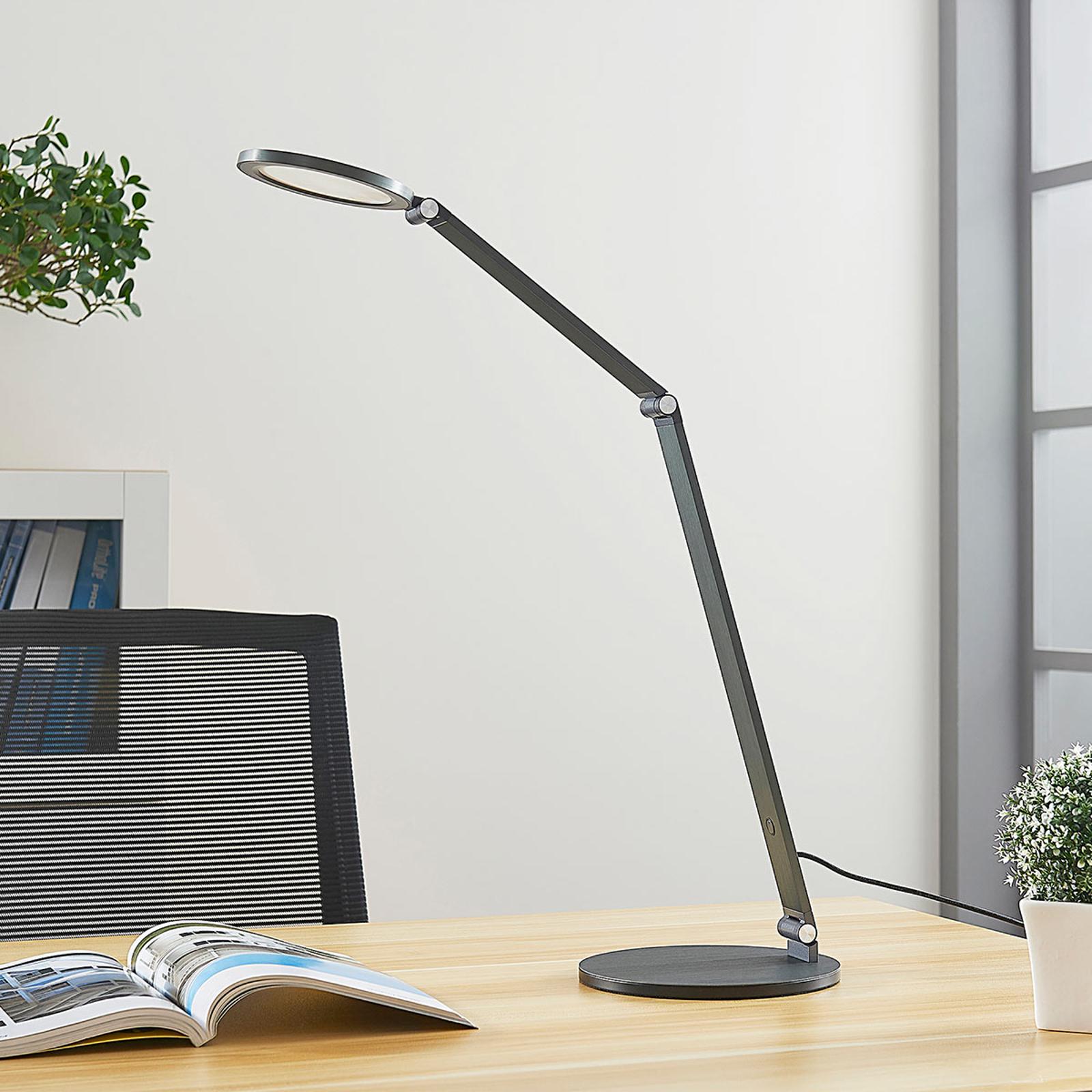 Lampe de bureau LED Mion avec variateur