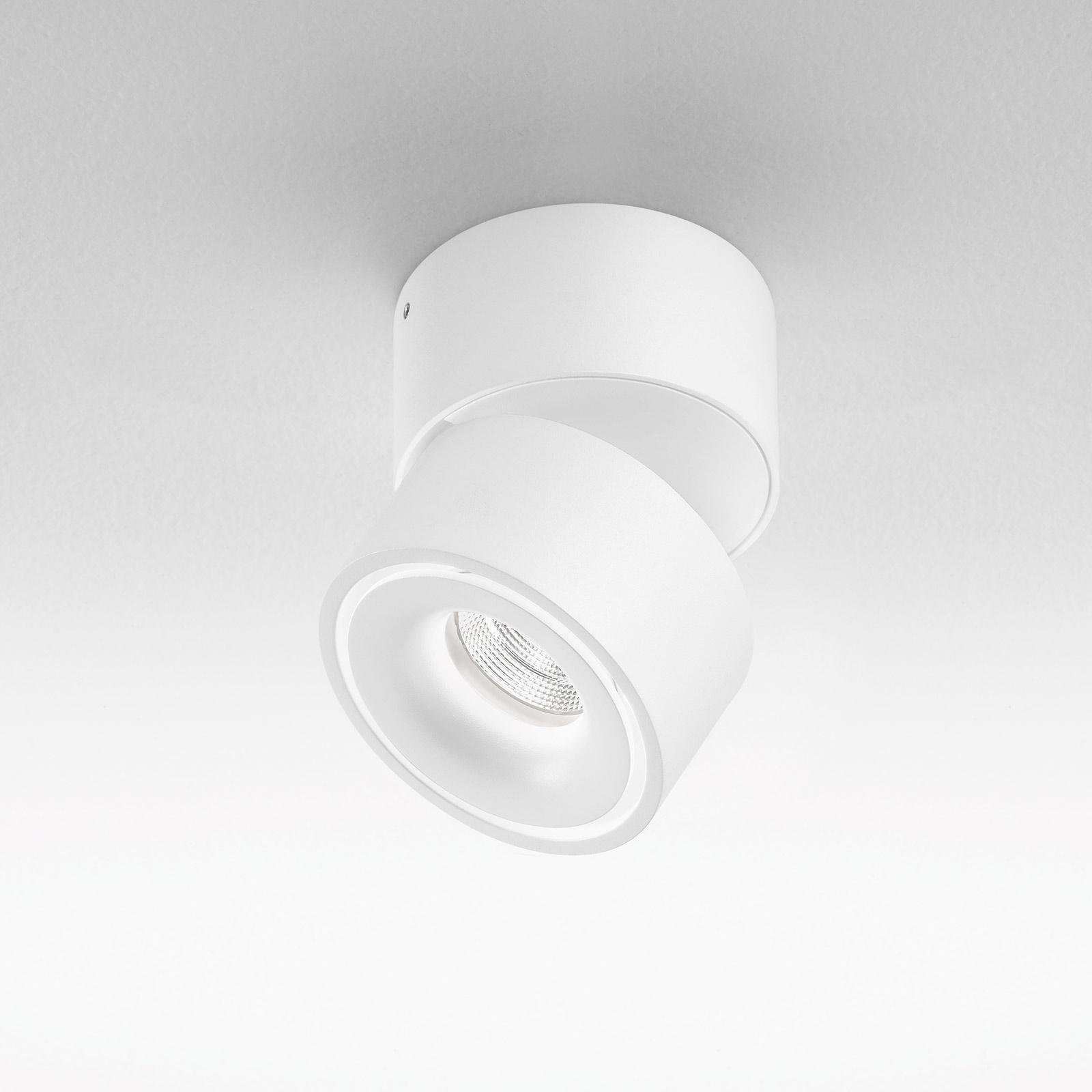 Egger Clippo LED-skinnespot dim-to-warm hvit