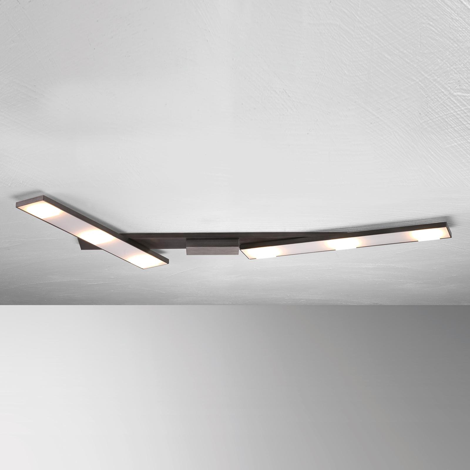 Svingbar LED-taklampe Slight, antrasitt