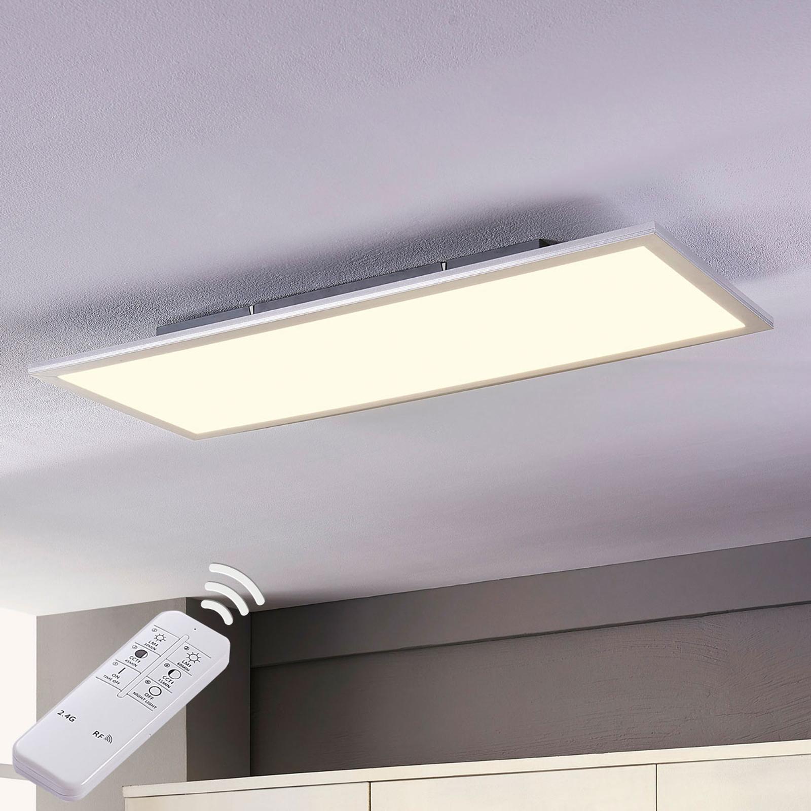 Lindby Livel panel LED CCT, 80 cm x 30 cm