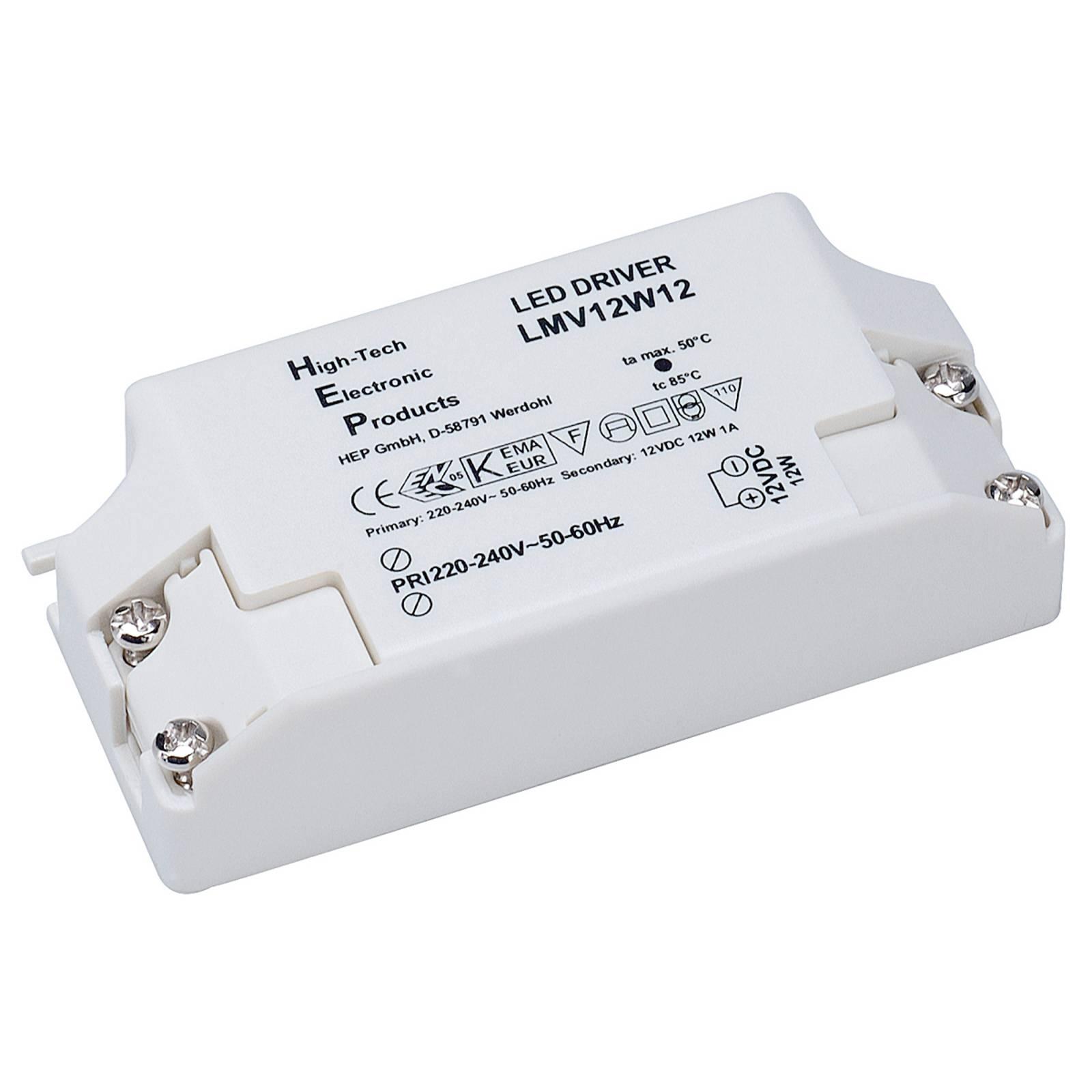 LED Nätdel 12W, 12V