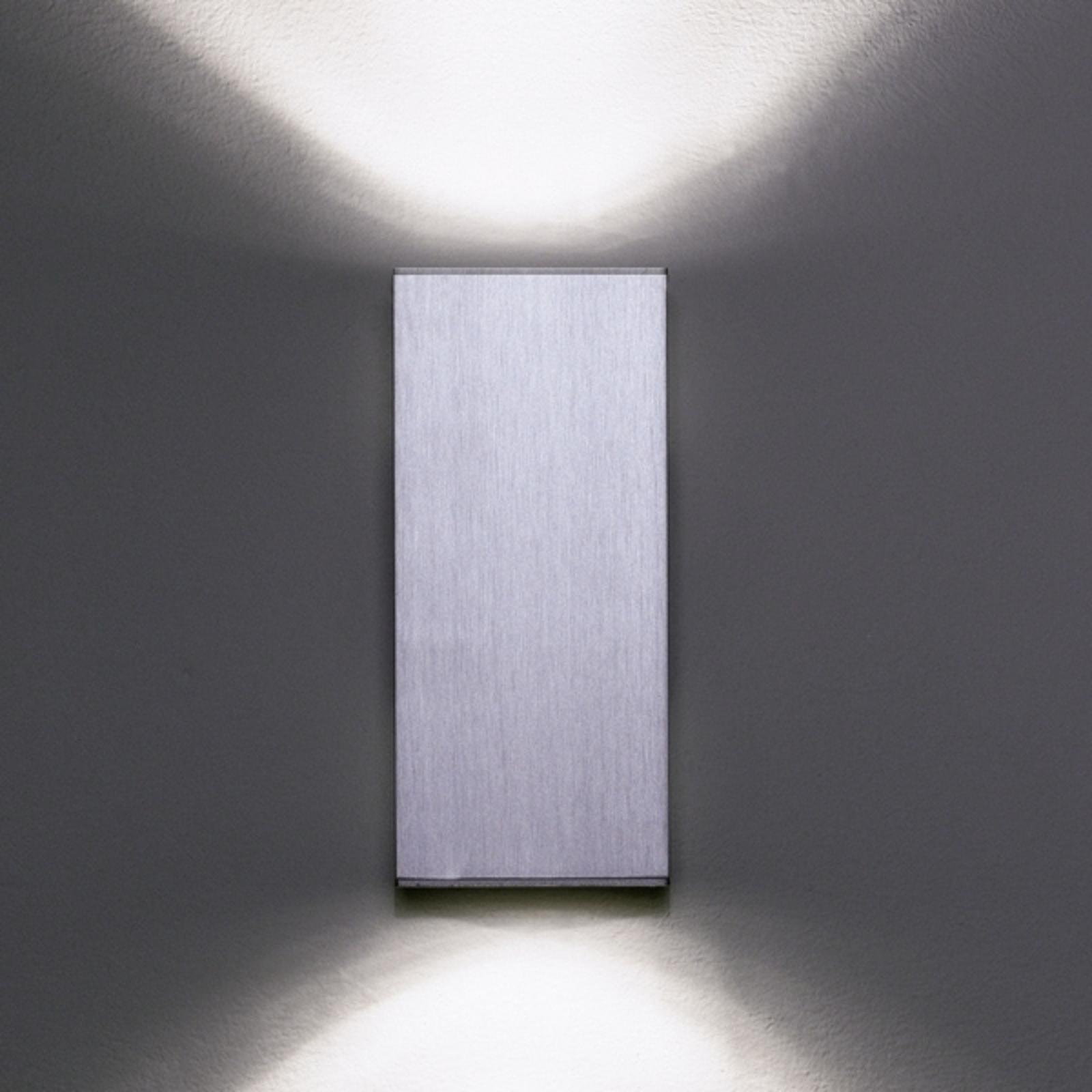 Milan Dau Double - wandlamp alu