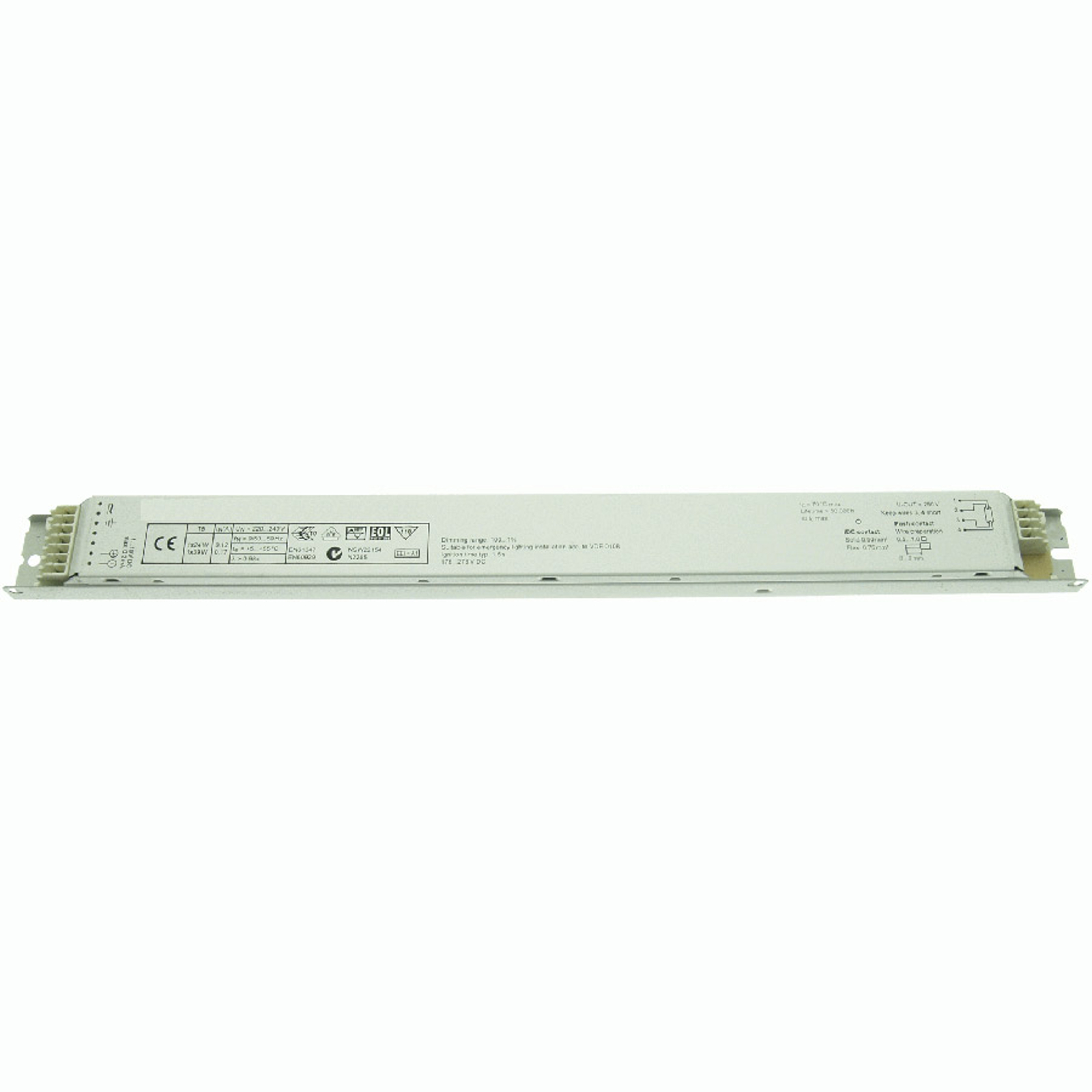 BE dimmable 24/39W T5 BCD39.1F-01/220-240/1-10V