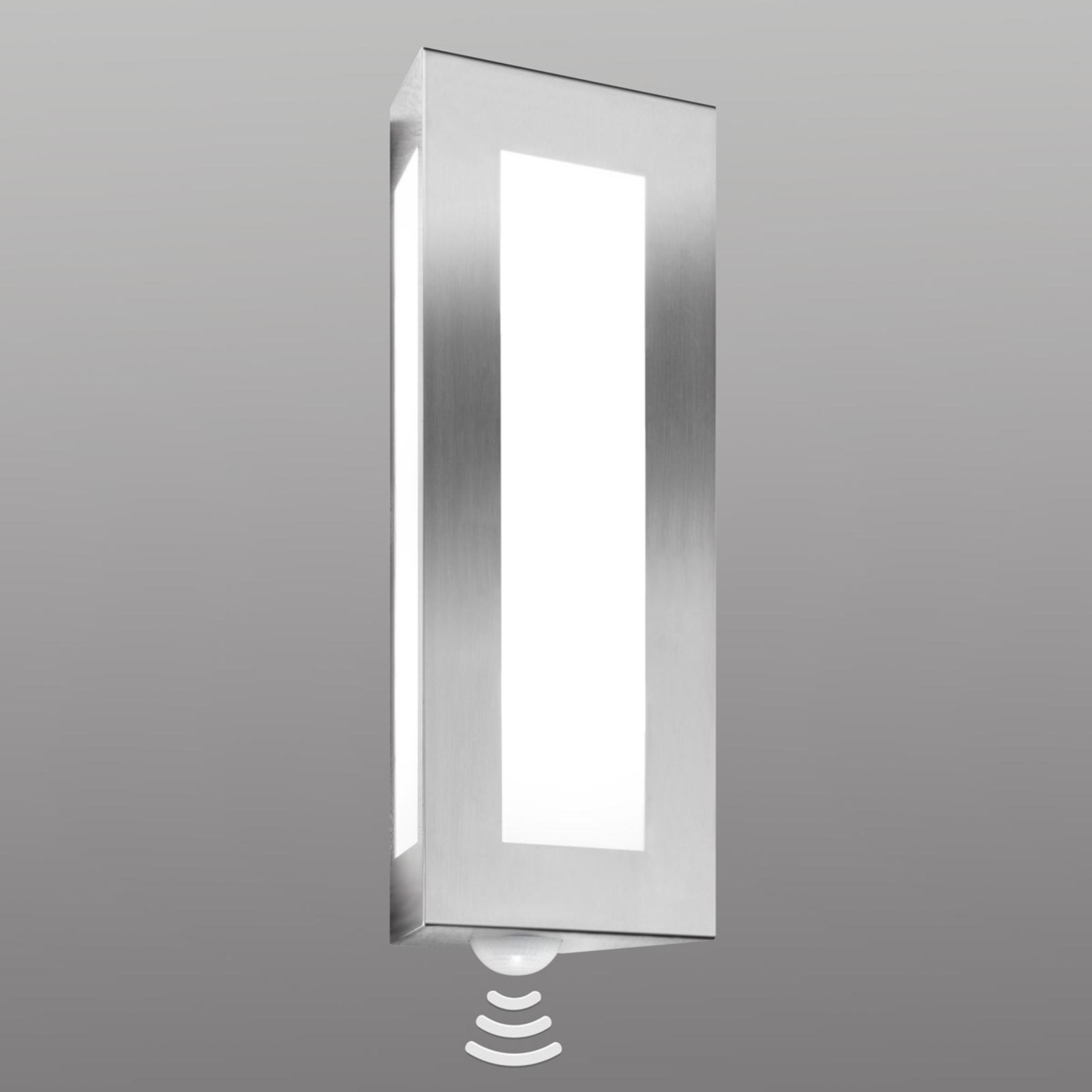 Decoratieve buitenwandlamp Lija, met sensor