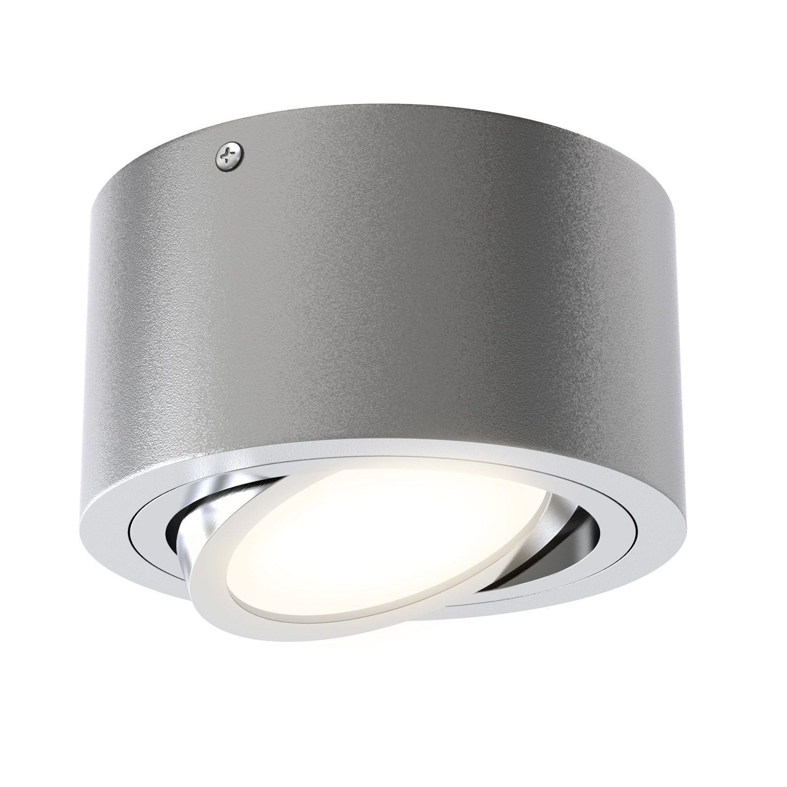 LED-Deckenspot Tube 7121-014 in Silber