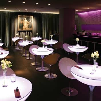 Styrbar bord Lounge LED Pro Accu