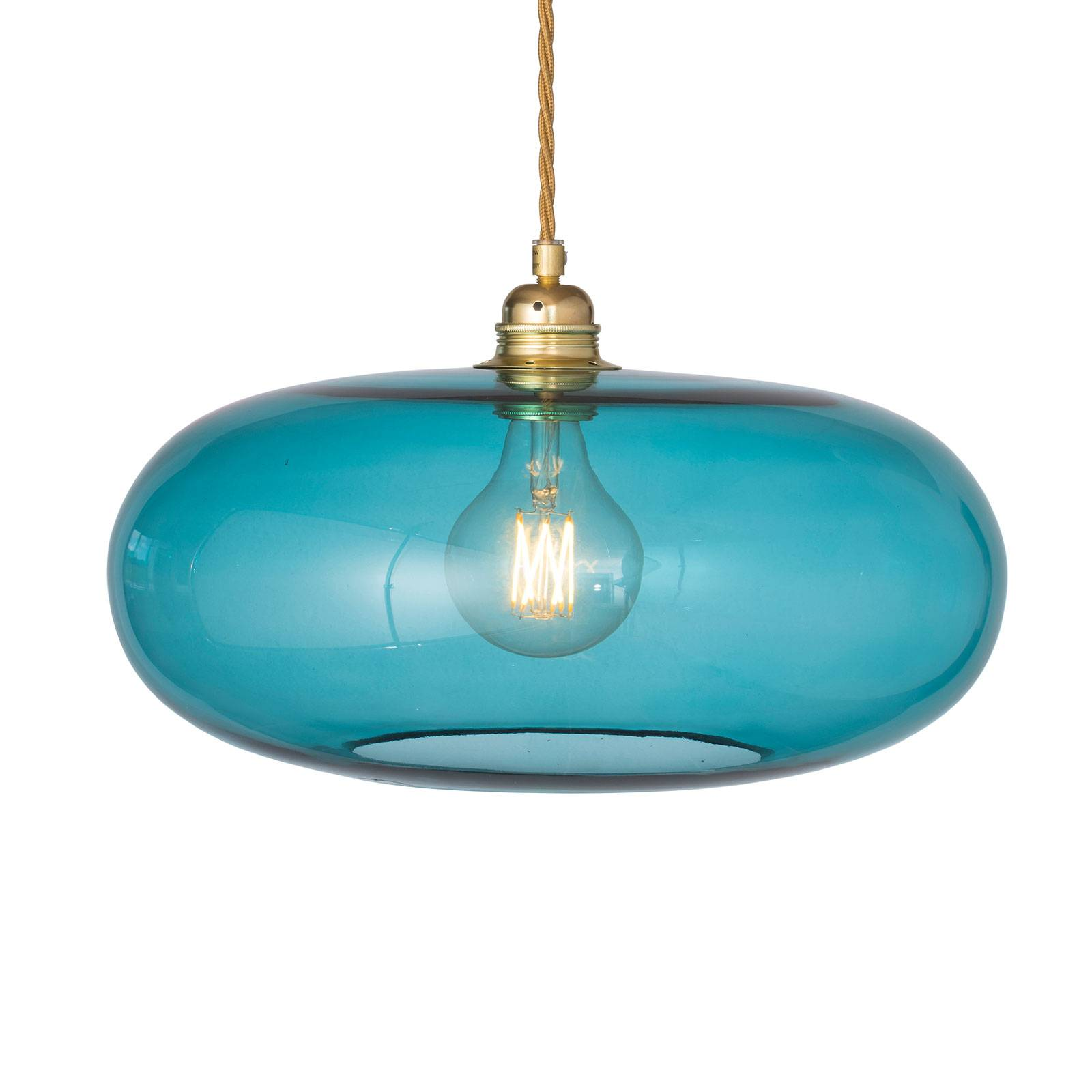 EBB & FLOW Horizon hanglamp zeeblauw Ø 36cm
