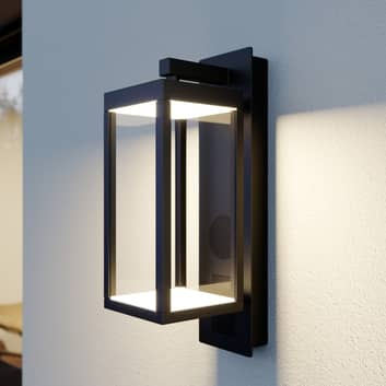 Lucande Ditta LED-Außenwandlampe mit Lautsprecher